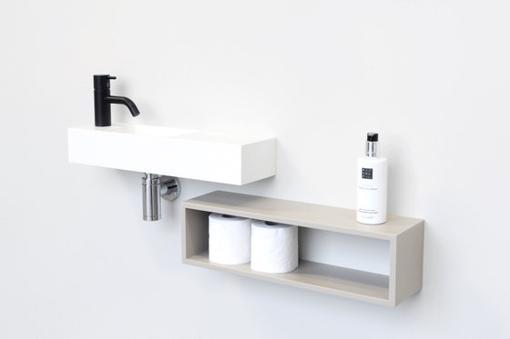 Edit handrinse cabinets von Not Only White B.V. | Badregale