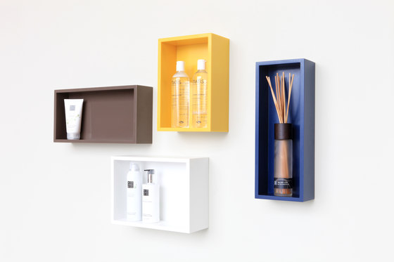 Edit cabinets by Not Only White B.V. | Bath shelving