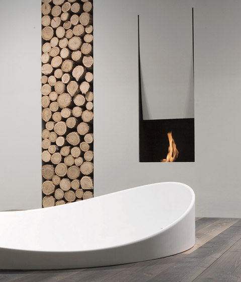 Il Canto Del Fuoco® by antoniolupi | Ventless ethanol fires