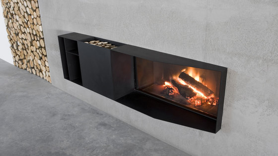 Skema by antoniolupi | Wood burning stoves