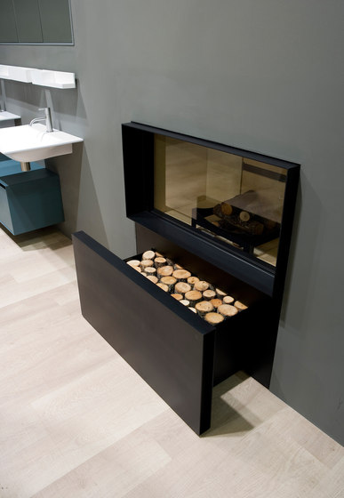 Skemabox by antoniolupi | Wood burning stoves
