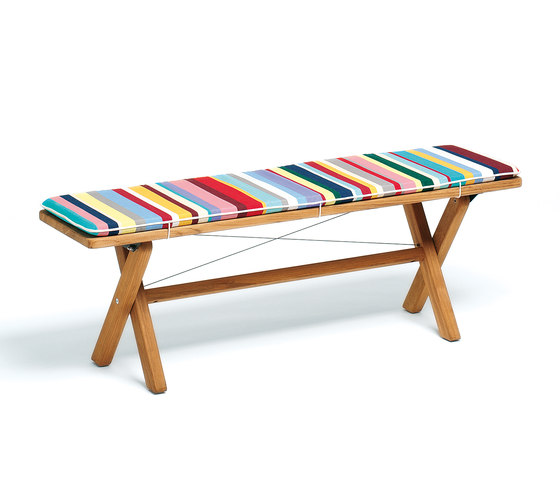 Cross Bench 140 by Weishäupl | Garden benches
