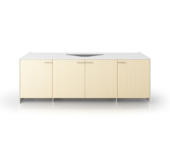 B6 Projection sideboard de Holzmedia | Meubles multimédia