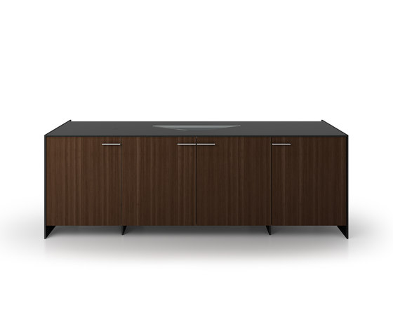 B6 Projection sideboard by Holzmedia | AV cabinets