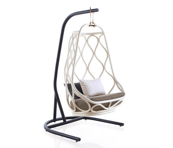 Nautica Swing chair with base by Expormim | Armchairs