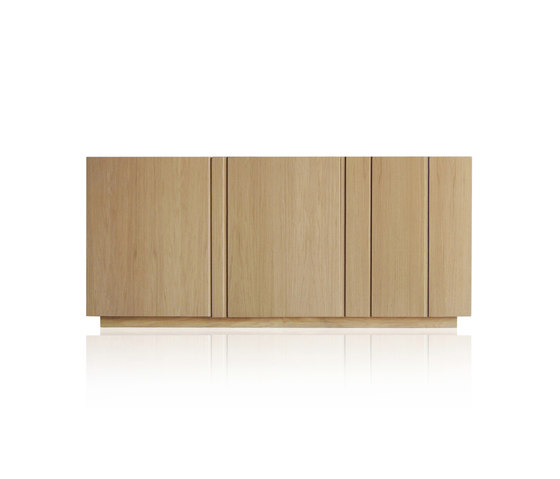 Solid Sideboard 3 doors by Expormim | Sideboards