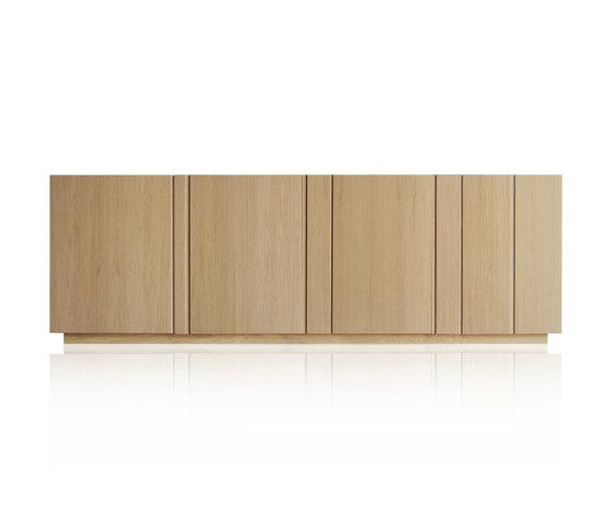 Solid Sideboard 4 doors by Expormim | Sideboards