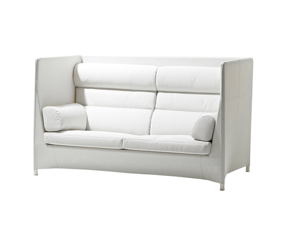 Diamond highback sofa by Cane-line | Garden sofas