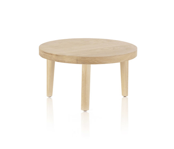 Trio Round coffee table by Expormim | Lounge tables