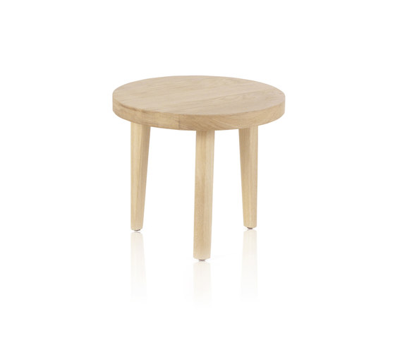 Trio Table basse ronde de Expormim | Tables d'appoint