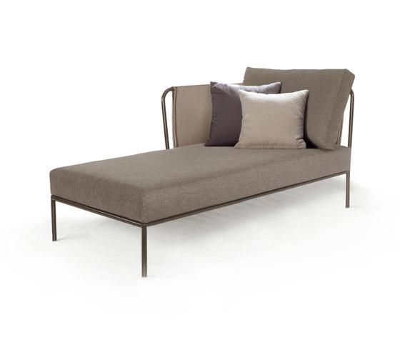 Nido Modulo chaise longue sinistro Batyline Senso di Expormim | Divani da giardino