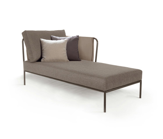Nido Right chaise longue module Batyline Senso by Expormim | Garden sofas