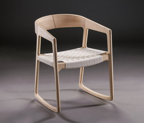 Tesa Rocking Chair by Artisan | Armchairs