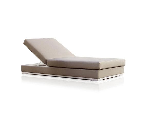 Slim Chaise longue de Expormim | Méridiennes de jardin