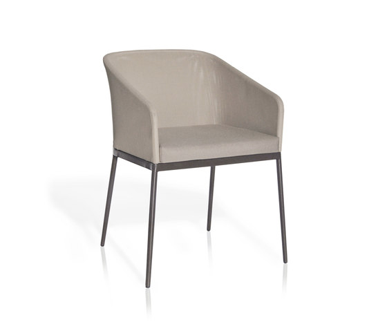 Senso Chairs Dining armchair by Expormim | Visitors chairs / Side chairs