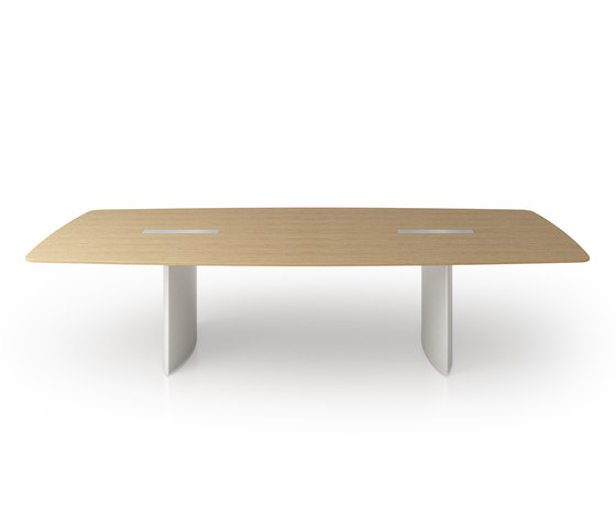 C1 Conference table by Holzmedia | Multimedia conference tables