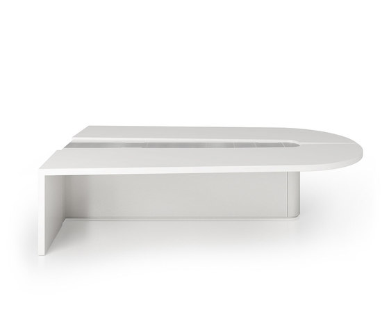 C4 Video conference table by Holzmedia | Multimedia conference tables