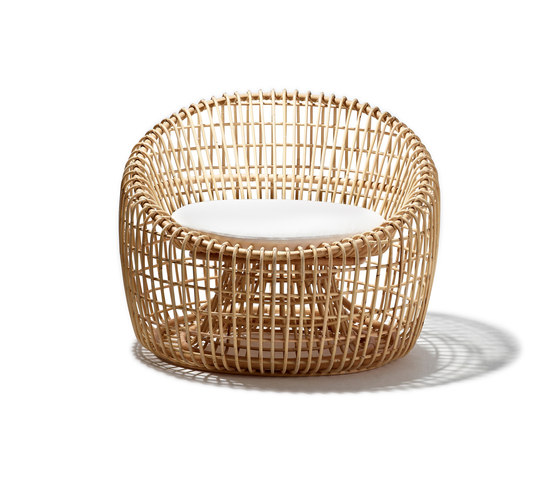 Nest Lounge Sessel von Cane-line | Sessel