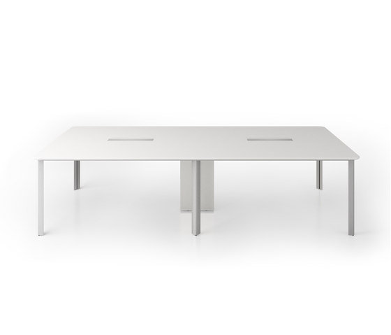 C6 Conference table system by Holzmedia | Conference tables