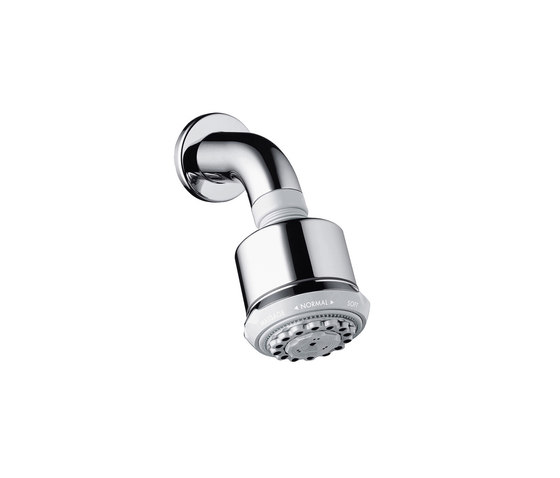 hansgrohe Clubmaster 3jet overhead shower with shower arm by Hansgrohe | Shower controls