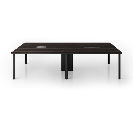 C6 Conference table by Holzmedia | Multimedia conference tables