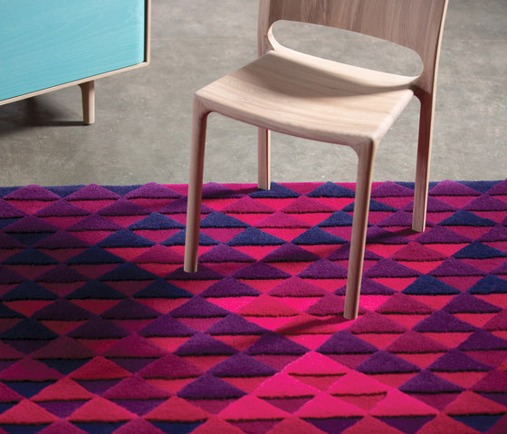 Chill-im Rug Purple by Artisan | Rugs / Designer rugs