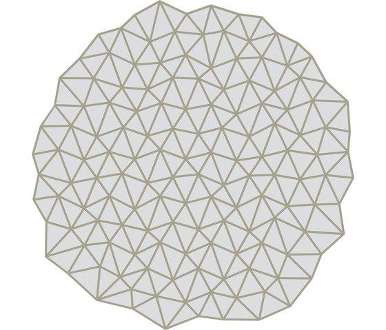Glacies Rug White Round by Artisan | Rugs / Designer rugs