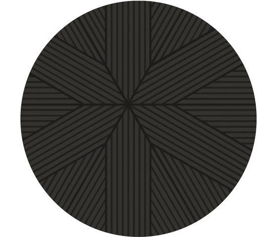 Nota Rug Dark Grey Round by Artisan | Rugs / Designer rugs