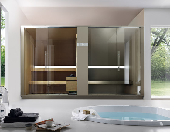 S+H Twin by EFFE PERFECT WELLNESS | Saunas