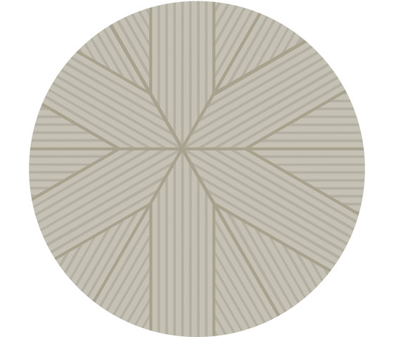 Nota Rug Beige Round by Artisan | Rugs / Designer rugs