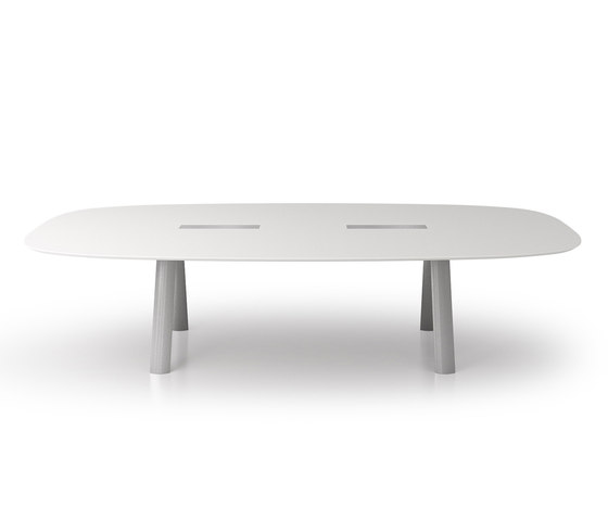 C9 Flexible conference system by Holzmedia | Conference tables