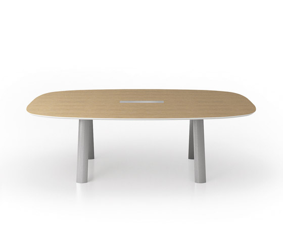 C9 Conference table by Holzmedia | Multimedia conference tables