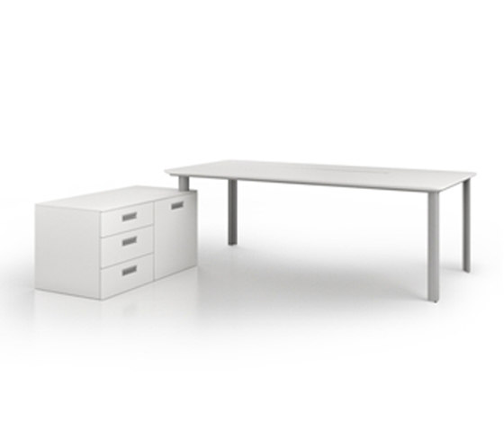 D1 Desk system by Holzmedia | Individual desks