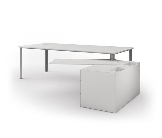 D1 Desk system de Holzmedia | Escritorios individuales