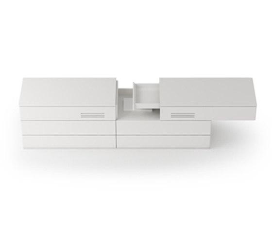 D2 Desk system de Holzmedia | Escritorios individuales