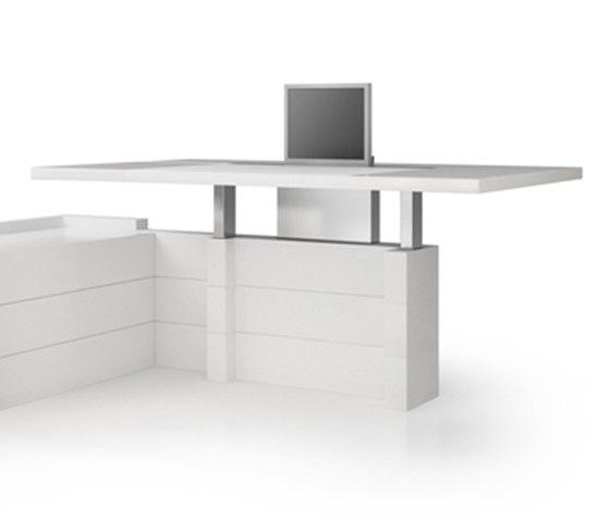 D6 Desk system by Holzmedia   Individual desks