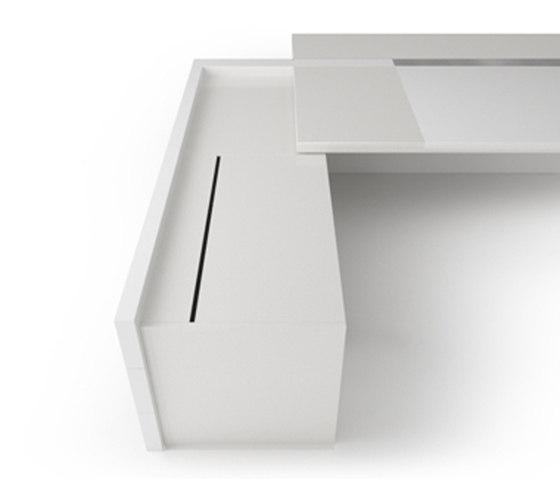 D6 Desk system by Holzmedia | Individual desks