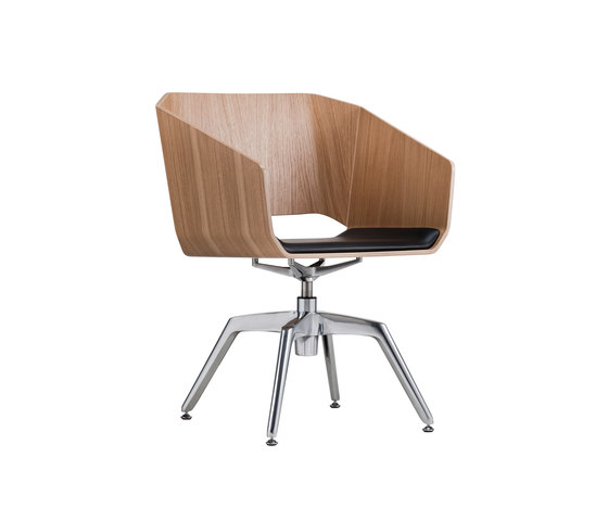 Sitag Woodi Lounge- and Conference chair by Sitag | Conference chairs