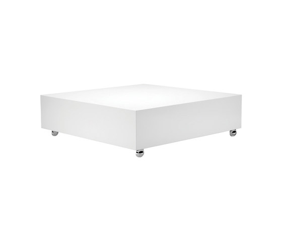 Panton Low Lounge White | Table by Verpan | Lounge tables