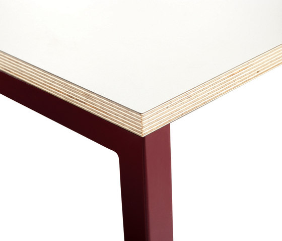 Panton Move Plywood | Table by Verpan | Multipurpose tables