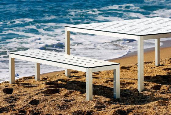 Mar de Aluminio Bench by Sistema Midi | Garden benches