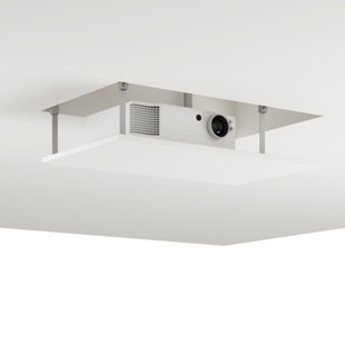 T1 Projector-lift ceiling by Holzmedia