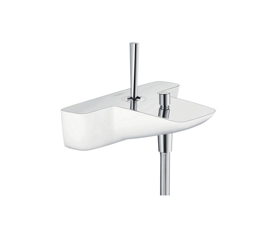 hansgrohe Single lever bath mixer for exposed installation by Hansgrohe | Bath taps
