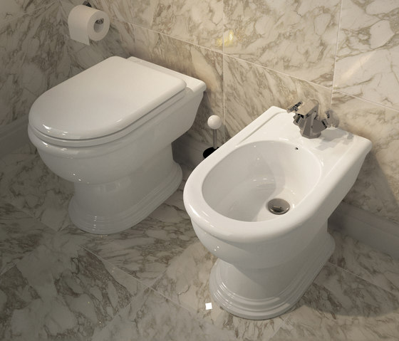 Fidia wc | bidet by Ceramica Flaminia | Toilets