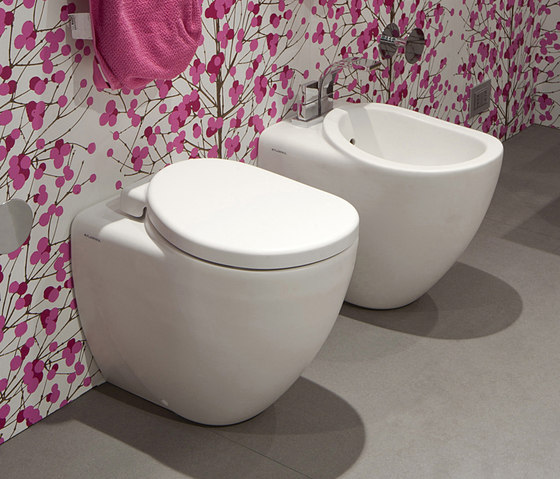 IO wc | bidet by Ceramica Flaminia | Toilets