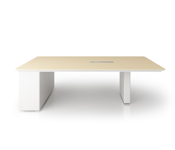 X6 Hide Desk by Holzmedia | Multimedia conference tables