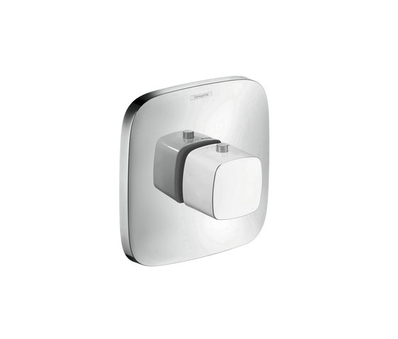 hansgrohe Thermostatic mixer highflow 59 l/min for concealed installation by Hansgrohe | Shower controls