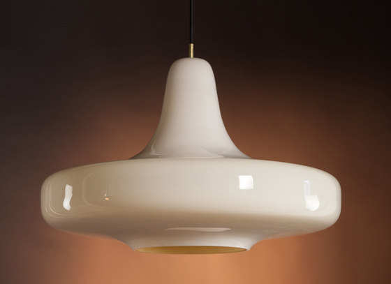 UFO60 white/ochre by PSYKEA | General lighting