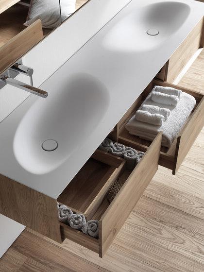 Shape Evo de Falper | Armarios lavabo
