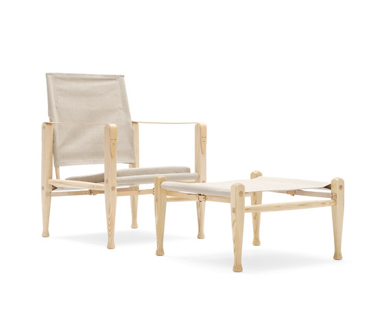 KK4700 | KK47001 Safari chair by Carl Hansen & Søn | Armchairs